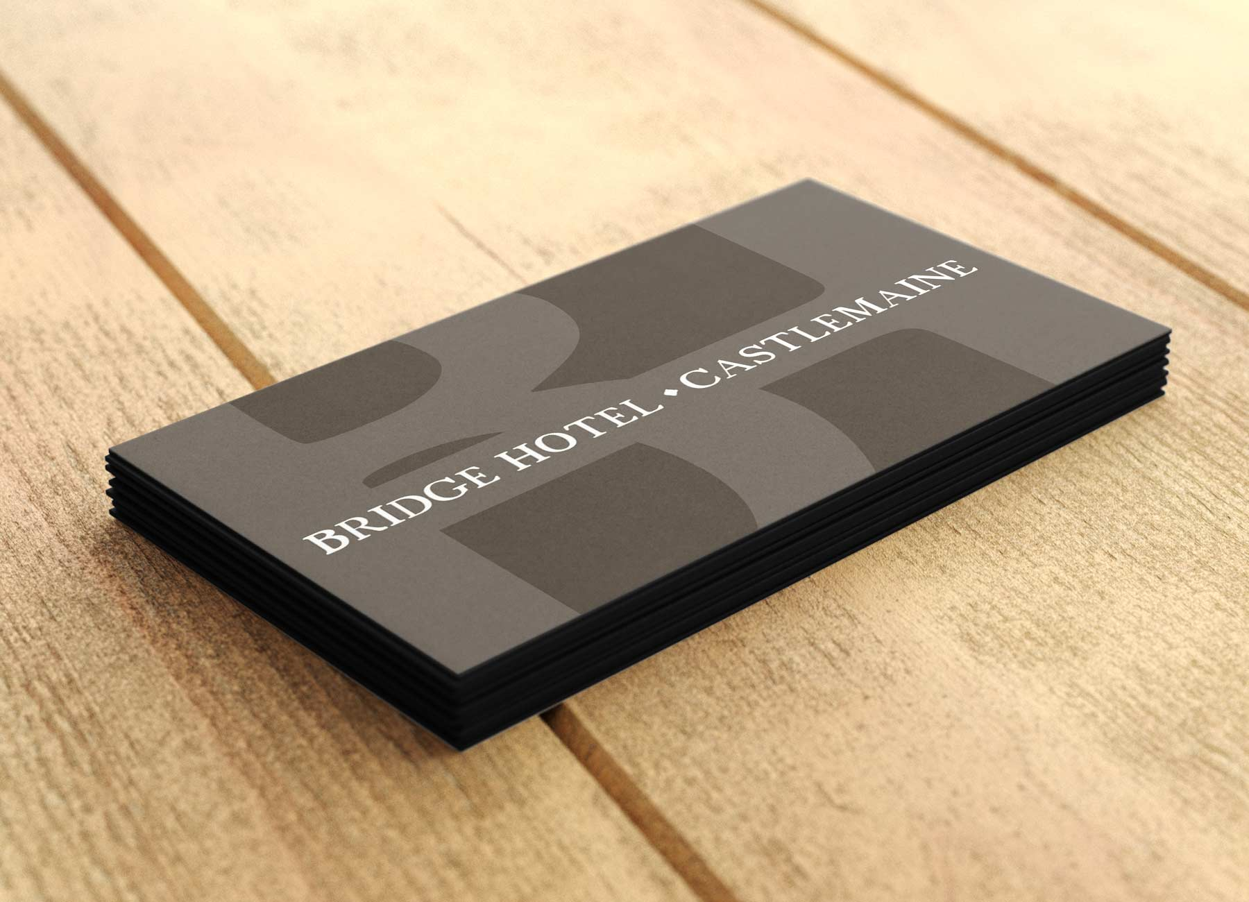 Bridge Hotel business card