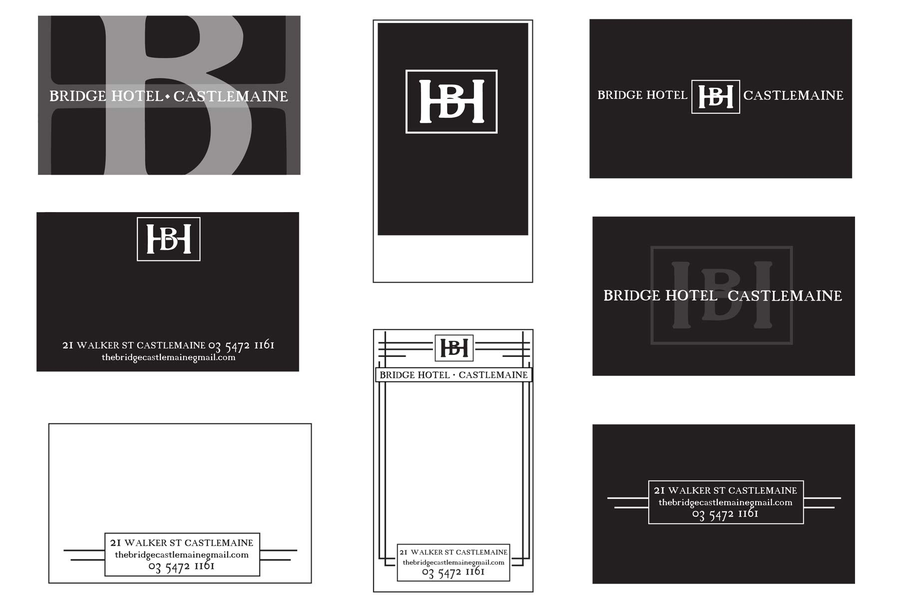 Bridge business card ideas