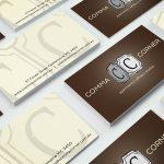 Comma Corner graphic design