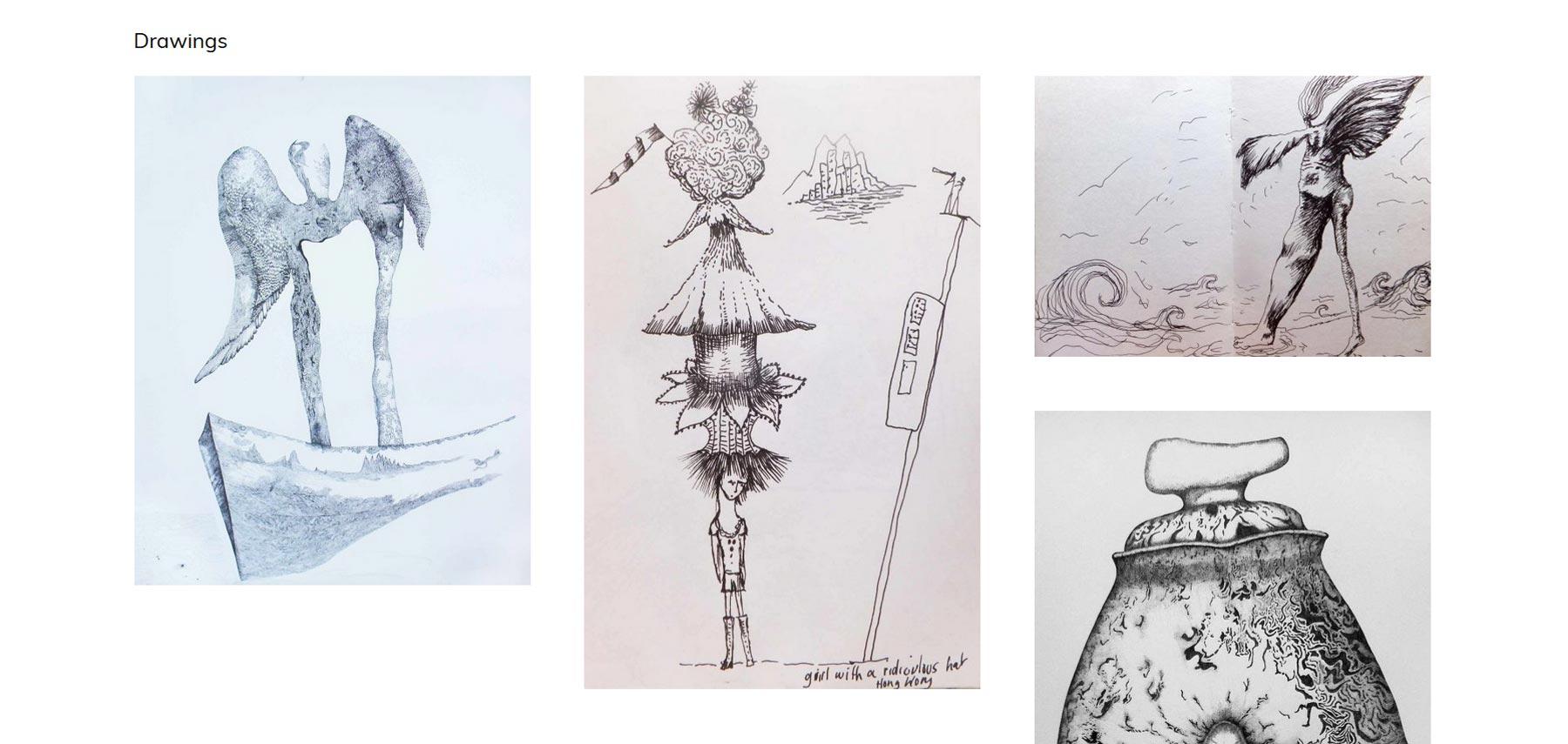 Jan Palethorpe artist drawings