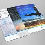 Magellan flyers graphic design